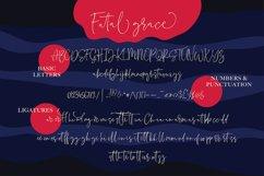 Fatal Grace. Signature Script Font. Product Image 7