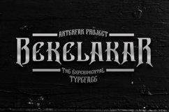 Bekelakar Typeface Product Image 1