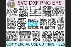 Giant Pet Mom Bundle of 68 SVG DXF PNG EPS Cutting Files Product Image 2