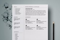 Resume Template | CV Cover Letter - Amanda Stewart Product Image 3