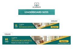 Real Estate | Interior Designer Banner Ad Template - RE001 Product Image 4