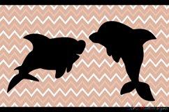 Sea animals silhouette / vector sea animal / sea animal SVG file / EPS vector / sea animals clipart Product Image 3