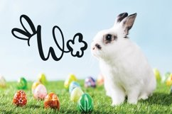 Rabbity - A Spring Font With Ears & Cotton Tails Product Image 5