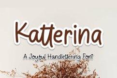 Web Font Katterina - Joyful Handlettering Font Product Image 1