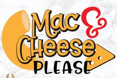 Mac N Cheese Please SVG Product Image 2
