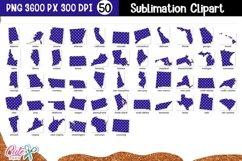 Patriotic USA States Sublimation Bundle|50 States Product Image 2