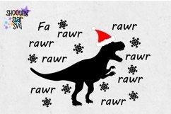 Fa Rawr Rawr Christmas Dinosaur - Christmas SVG Product Image 3