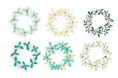 Set of Christmas wreaths Product Image 4