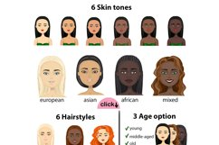 Portrait creator with age and nations option girls and woman Product Image 2