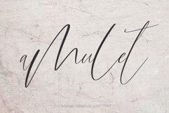 Amulet. Signature Script Font Product Image 1