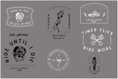 Cascade Motorcycle font Product Image 5