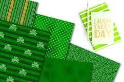 St. Patrick's Day Digital Paper Pack Product Image 4
