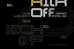 Kickoff Font Family Product Image 1
