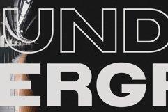 Triumph Wide Sans Serif Font Product Image 4