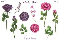 Black & Pink Product Image 2