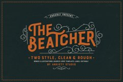 The Beatcher Typeface Extras Product Image 2