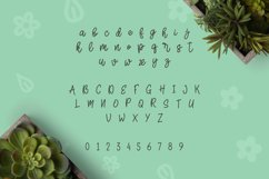 Web Font Herbie - A Flowery Font Product Image 2