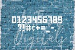 Grunge Font, Distressed Font, Sport Font, Athletic font Product Image 3