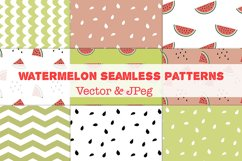 Watermelon Seamless patterns Product Image 1