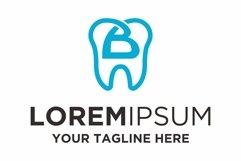 Dentist health letter B logo design Product Image 1