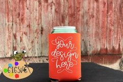 Tangerine Can Cooler Mockup Product Image 1