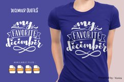 10 December Bundle | Lettering Quotes Product Image 2