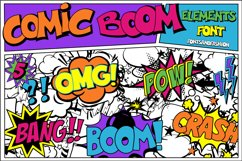 Comic Boom Elements Product Image 4