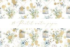 Pastel winter digital paper, seamless pattern Product Image 6