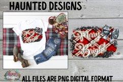 Merry Christmas Tree Sublimation Bundle Clip Art Design Product Image 4