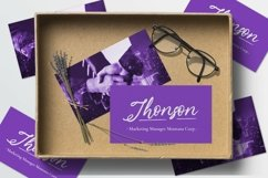 Web Font Lavender Script Product Image 2