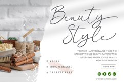 Beatney a Classy Signature Font Product Image 4