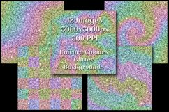 Unicorn Colours Glitter - 12 Background Image Textures Product Image 3
