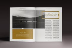 The Golden Magazine Indesign Template Product Image 6