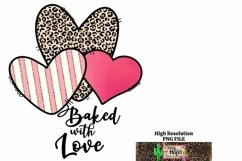 Baked with Love Valentine Kitchen Dye Sublimation Product Image 5