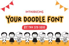 Your Doodle Font - Cute Kids Handwriting Font Product Image 1