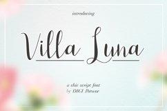 Villa Luna Font Product Image 1