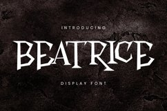 Beatrice Font Product Image 1
