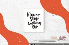 Sweet Caramels - Handlettering Script Font Product Image 2