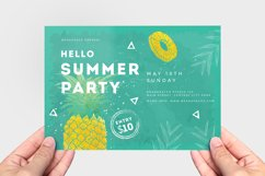 Minimal Summer Flyer Template Product Image 2