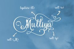 Hello Sweety // Script Font Product Image 2