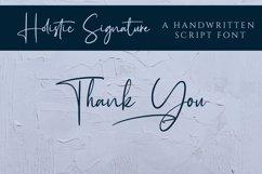 Holistic Signature - A Handwritten Signature Font Product Image 6