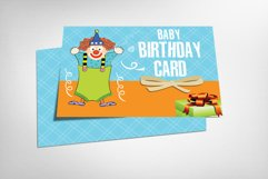 Baby Birthday Card Product Image 1