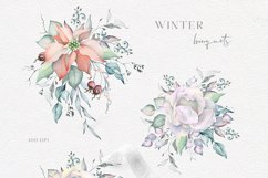 Winter Watercolors & Alphabets Product Image 4