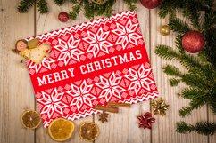 Merry Christmas SVG, Christmas card template PNG, JPG Product Image 2