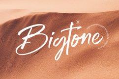 Bigtone Script Product Image 1