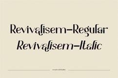 Revivalisem Sans Serif Font Product Image 2