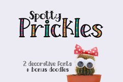 Spotty Prickles Product Image 1