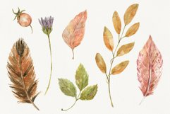Autumn Time. Watercolor isolated cliparts Product Image 6