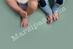 feet of twins newborns, brother sister, multiple pregnant Product Image 1