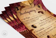 Thanksgiving Menu Template V3 Product Image 4